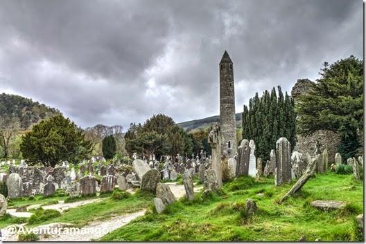 A torre redonda - Glendalough - Irlanda