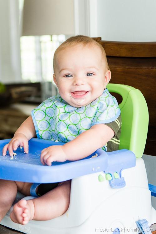 Ethan eating 6 months blog-1