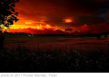 'Almost Heaven WV Country Farm Sunset' photo (c) 2011, Forest Wander - license: http://creativecommons.org/licenses/by-sa/2.0/