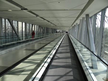 Tunel metro - Dubai Mall