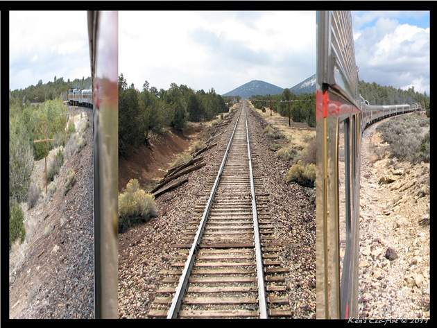 Canyon Railroad Diptych