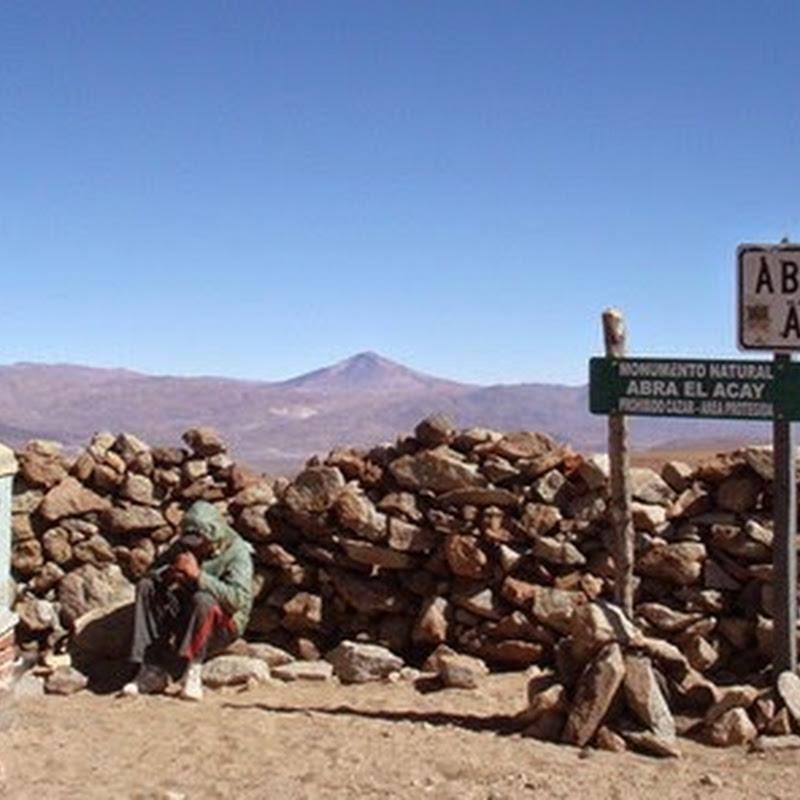 El Abra del Acay es un paso de montaña considerado el Aconcagua de los ciclistas.