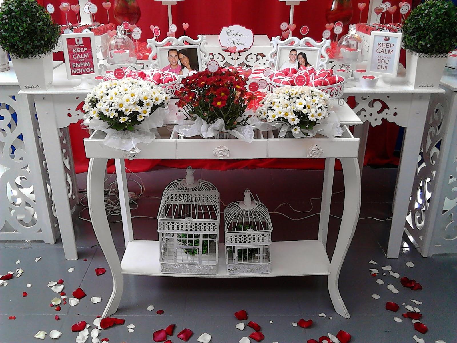 decoracao festa noivado:bem bolado daniela genari: Decoracao Provencal para Noivado