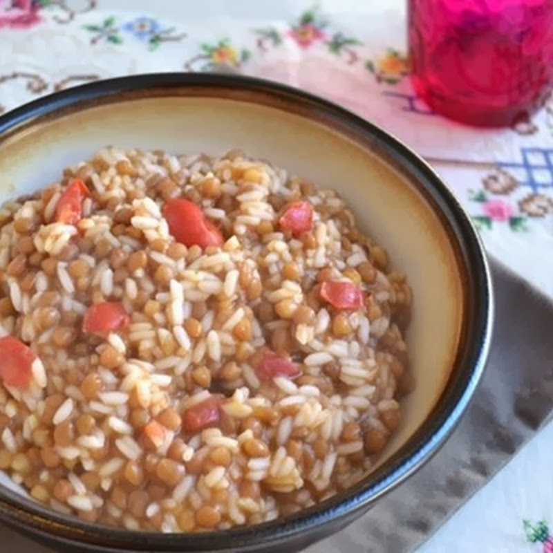 Ρύζι με φακές