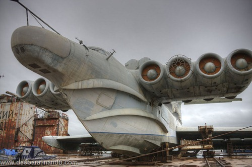 ekranoplano projeto 903 lun russo russia uniao sovietica desbaratinando (62)