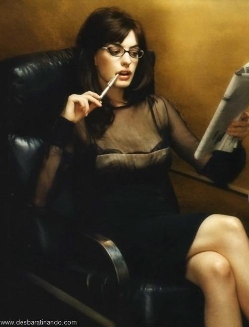 anne hathaway linda sensual sexy desbaratinando  (51)