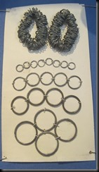 Brass, zinc & tin rings for button making