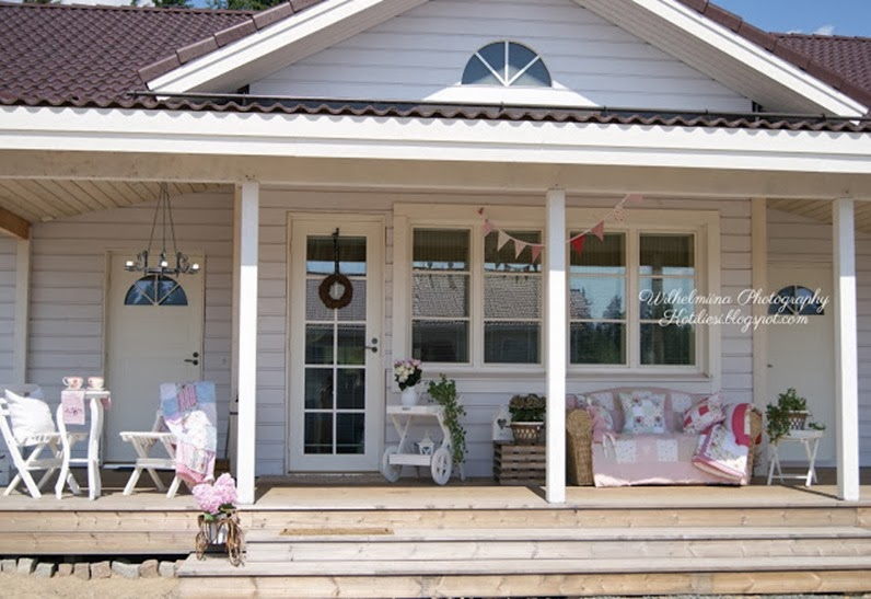 Shabby and charme nordic style una casa bellissima e for Esterno in stile country francese