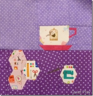June And Sew On Block A Stitch in Time