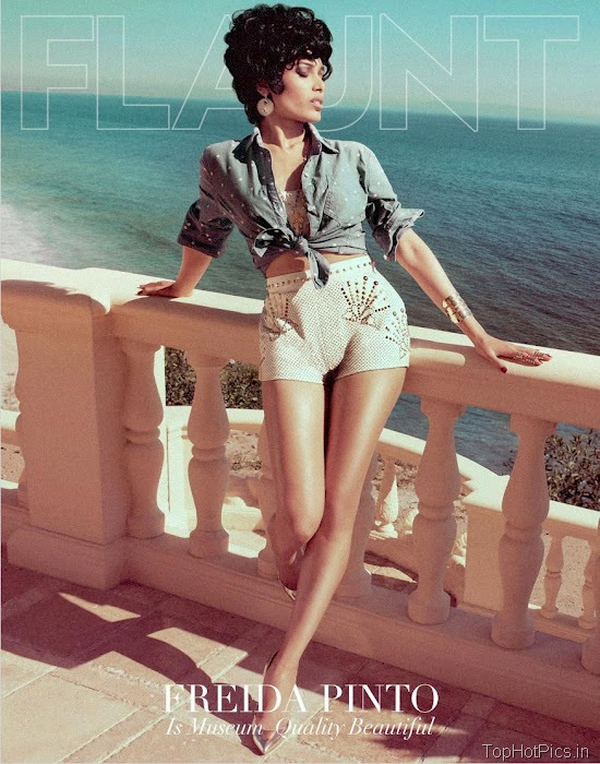 Freida Pinto Sexy 2012 Pics from Magazine 2