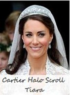 Cartier Halo Scroll Tiara