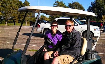 Golf with Korey and Cathryn Oct. 11, 2014