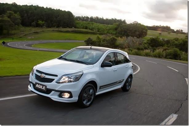 Chevrolet lança série Effect para Agile e Sonic 2014 - Novidades Automotivas 802d8e99a288a