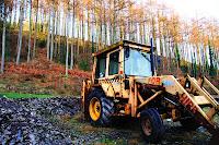 Old bulldozer