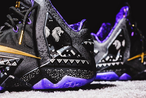 Release Reminder Nike LeBron 11 Black History Month