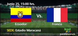 Ecuador vs Francia