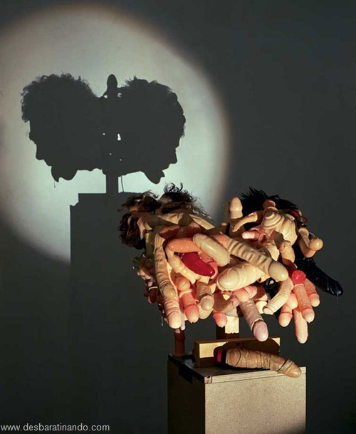 arte das sombras desbaratinando rubbish shadow sculptures tim noble sue webster (9)