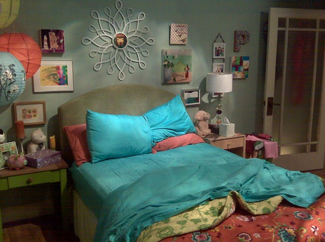 the big bang theory o quarto da Penny