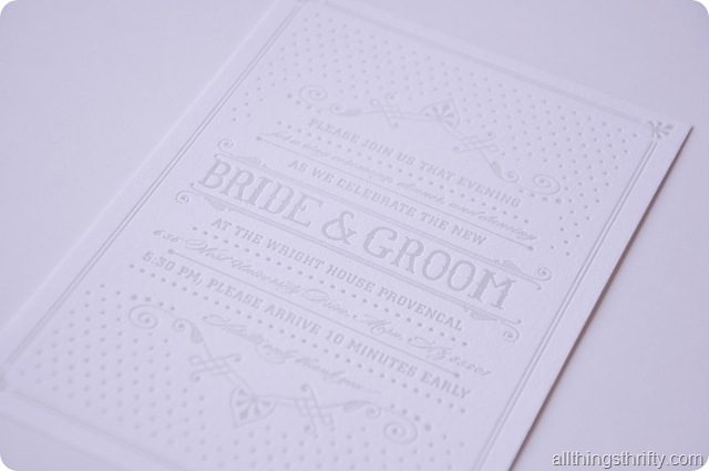 Wedding Invitations 1