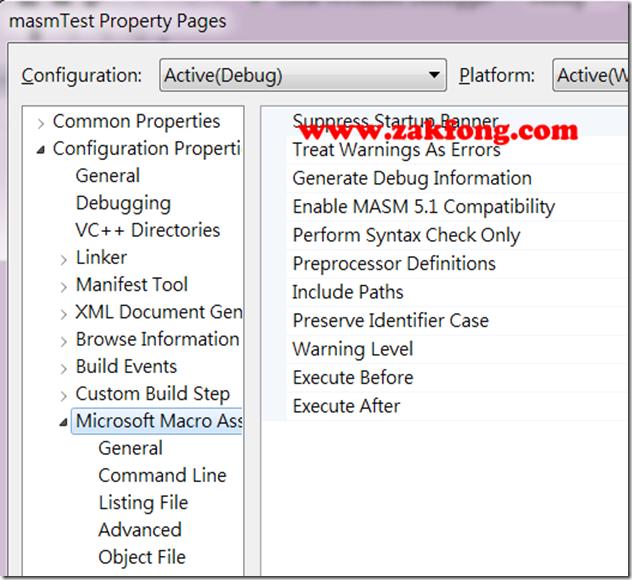 201201117-5-MASM-如何使用Visual Studio 2012開發組合語言-W