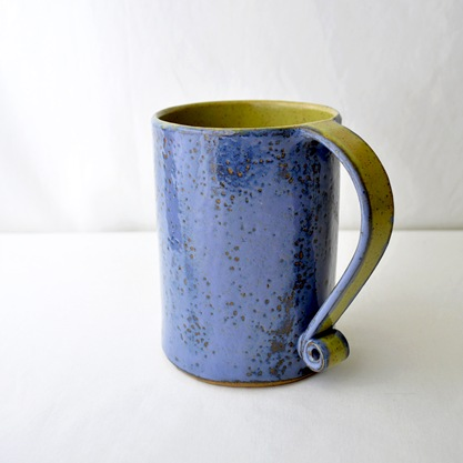 bucket of coffee by glazedOver Pottery 5