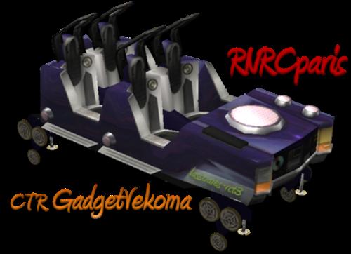 CTR GadgetVekoma RNRCparis (Gadget) lassoares-rct3