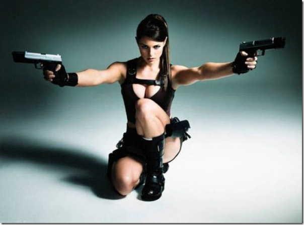 Os melhores cosplays de Lara Croft 15