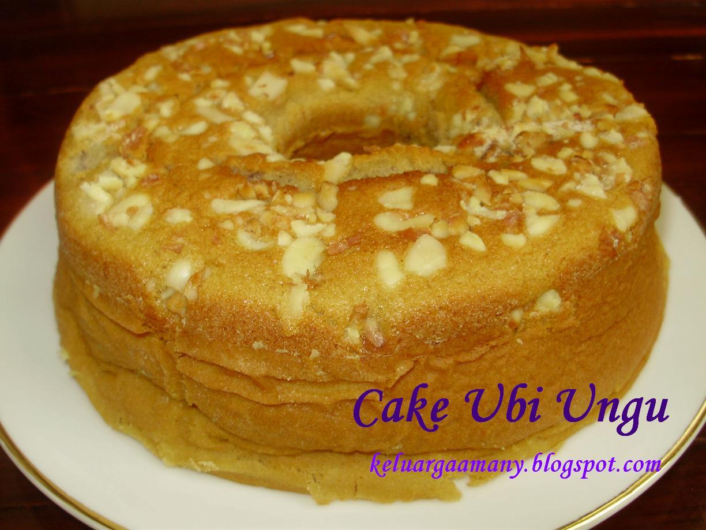 Cake Ubi Ungu