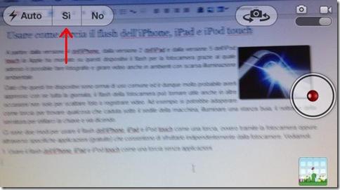 Usare il flash dell'iPhone, iPad e iPod touch come una torcia senza applicazioni