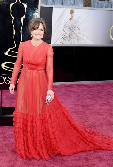 Sally Field de Valentino