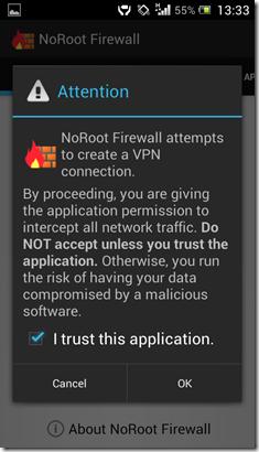 Bebas Roaming Firewall 2