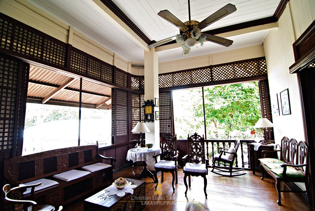 The Goco Ancestral House Living Room