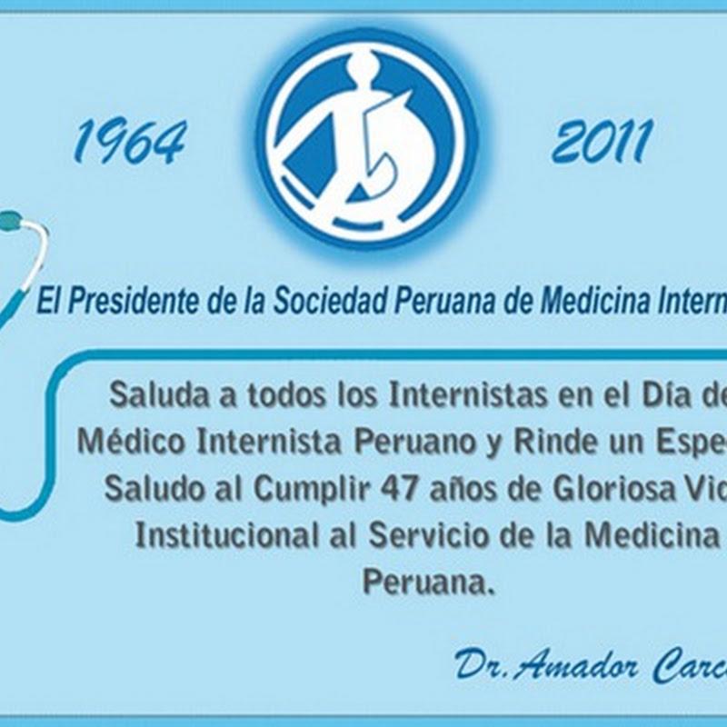 Día del Médico Internista en Perú