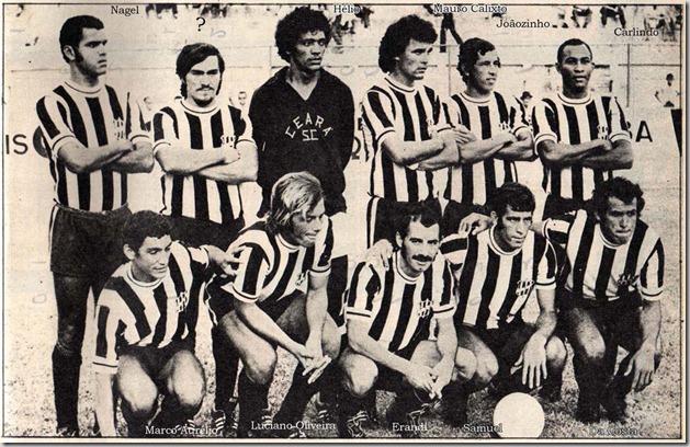 1972 - Ceará Placar
