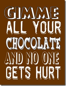 And in honor of the occasion, I'm re-posting some chocolate themed ...
