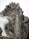 Gunung Sinabung rocky cliff (Chris Whiting, December 2010)