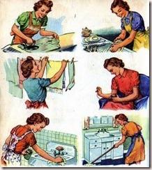 faxina domestica vitage