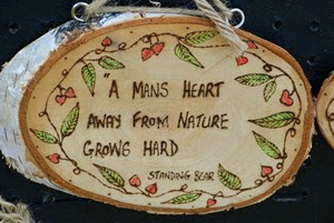 A mans heart away from nature grows hard