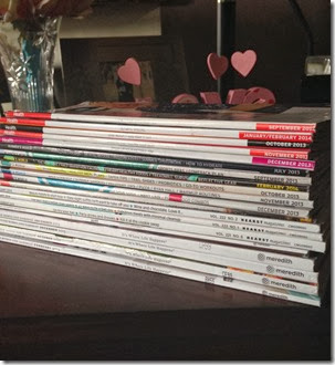 Stack of Magzines