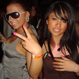 girls at guvernment nightclub in Toronto, Ontario, Canada