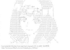 [AA]安心院なじみ (めだかボックス)