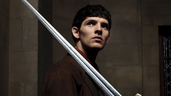 Colin Morgan is Merlin in Diamond of the Day