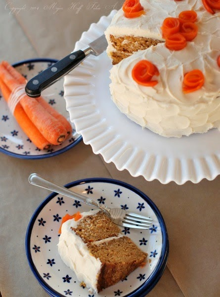 Best carrot cake ever with Cinnamon Cream Cheese Frosting
