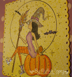 Happy Halloween - Cards Cupids - Stamping Boutique 2