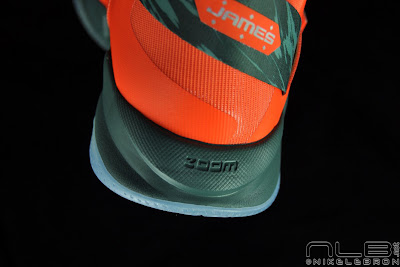lebrons soldier6 orange camo 61 web black The Showcase: Nike Zoom Soldier VI Orange & Hasta Camo