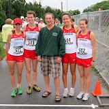 Katelyn Ramage (501), Hana Ready (503), Patrick G. Binns (Consul General of Canada to New England), Anne Voyer(504) and Melanie Reum (502).