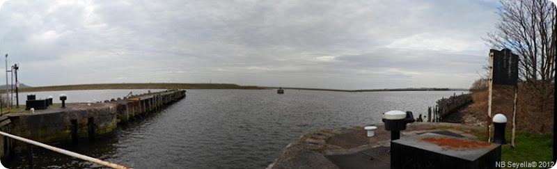 Panorama from Marsh Lock