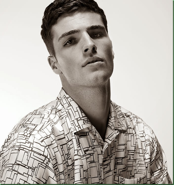 Edward Wilding for Huntergather SS 2014 Look book