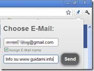 Un clic per inviare in email tutte le pagine internet aperte su Chrome