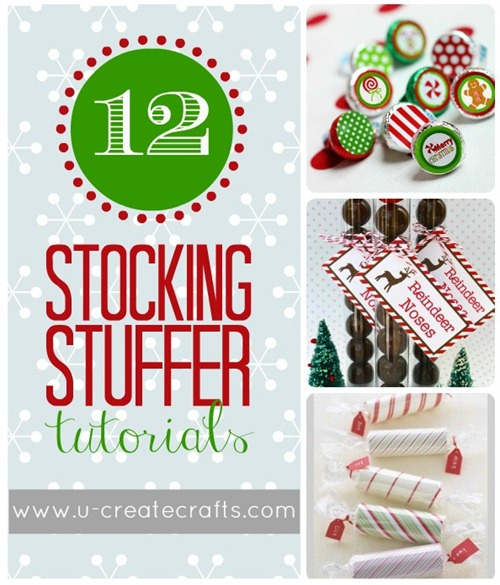 12 Stocking Stuffer Tutorials